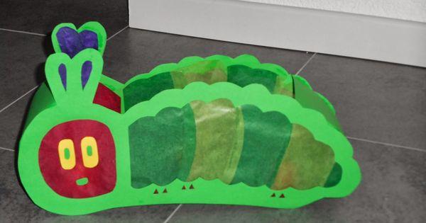 Dscn0117 jpg pixel laternen pinterest - Raupe basteln kindergarten ...
