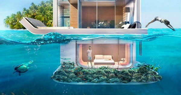 Floating Seahorse These Are Dream Boat Houses Near Dubai