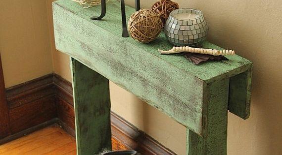 Muebles para el recibidor decoraci n con palets for Muebles el abuelo
