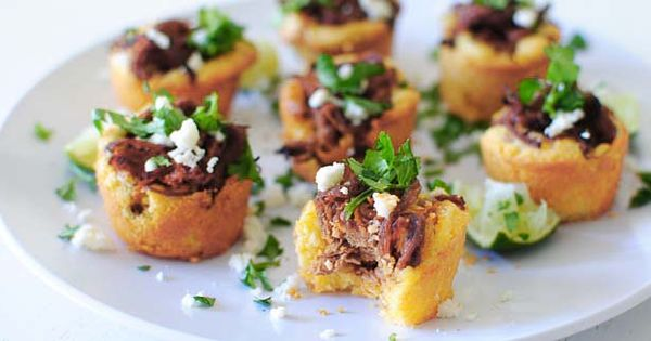 Steak and Cornbread Tamale Bites | Recipe | Tamales, Cornbread and ...