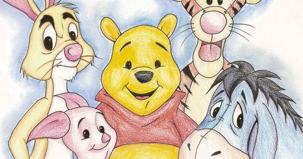 Winnie the pooh characters represent mental disorders tiger has adhd