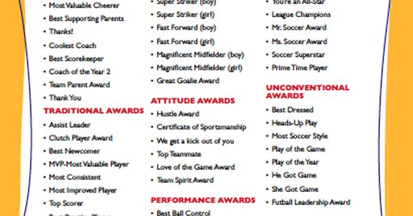 unique soccer award template component resume ideas namanasa com