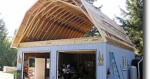 Discussion of Gambrel Roof designs with Attics | Construction ...
