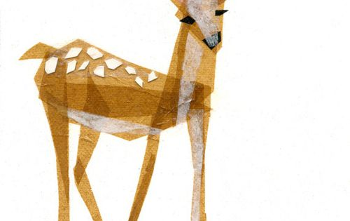 Land of Nod - Edie Fawn Wall Art