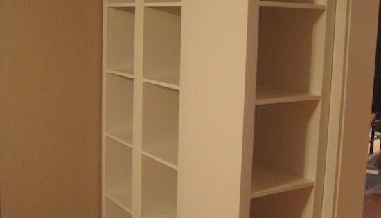Voici comment donner de l allure une tag re ikea bon for Comment donner des meubles a emmaus