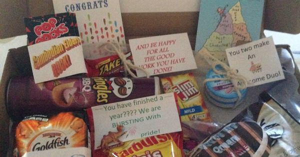 Hump Day package! One year celebration. Treats for my son ...