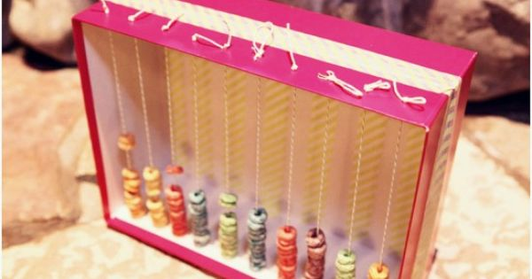 100th day of school project :: chinese abacus. This is also one
