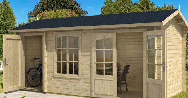 2 Raum Gartenhaus Bolton 28 Xl Gartenhaus Haus Gartenhaus Gmbh