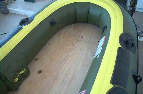 Sevylor fish hunter hf 280 hf 360 wood plywood floor for Sevylor fish hunter 360