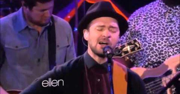 Justin Timberlake What Goes Around Comes Around Live On Ellen