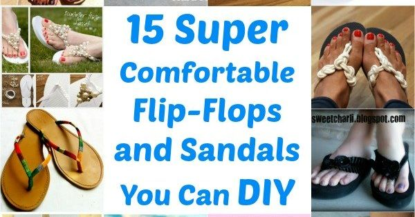 Summer means painted toenails, flip-flops and sandals. If you love showing off those tootsies during warmer weather, have we got a great collection for you! We | See more about Sandals, DIY and DIY and home improvement.