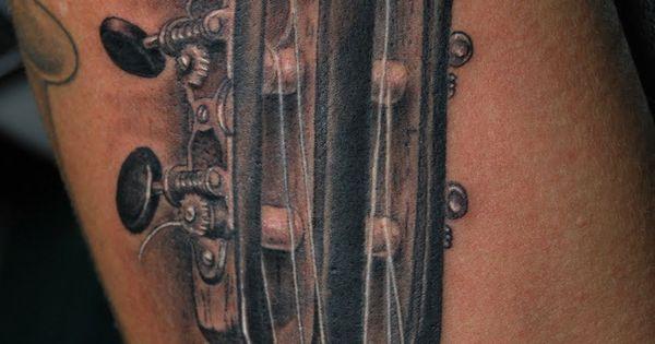 Guitar  Guitar tattoo ...