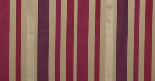 Lucca Stripe Velvet Fabric Cranberry Curtain Fabrics Pinterest Lucca Curtain Fabric And
