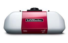 8550 Elite Series Dc Battery Backup Belt Drive Garage Door Opener Liftmaster Garage Door Opener Garage Doors