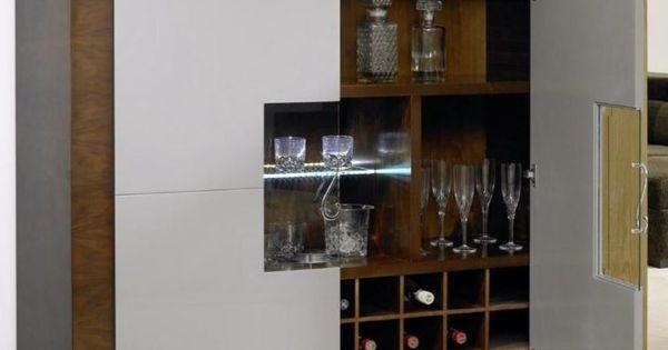 Mueble de bar moderno buscar con google malagon - Mueble bar moderno ...