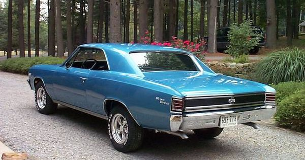 1967 Marina Blue Chevelle Tech Chevelle Chevy Muscle Cars