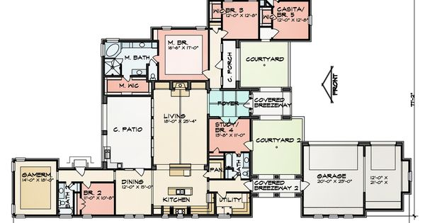 Floor Plan Image Of Featured House Plan Bhg 9011 Very