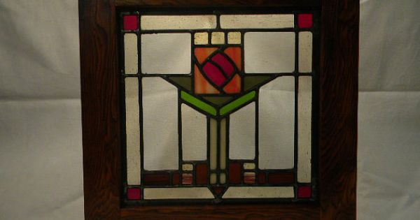Craftsman Stained Glass Window Craftsman Style