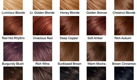Hair Color Chart Hair Colors Pinterest Hair Coloring