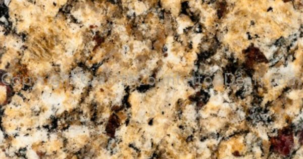 Natural G682 Rusty Yellow Granite Stone Slab For Countertop Yyt