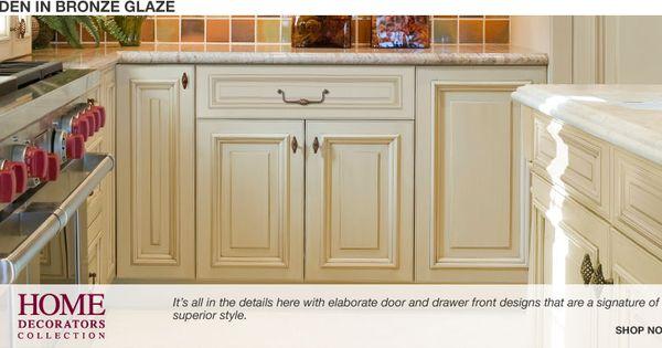 Home Depot Holden Bronze Glaze Cabinets Home Interiors