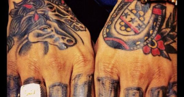Rapper stalley 39 s hand tattoos was done by bj betts and for Rapper with 69 tattoo on face