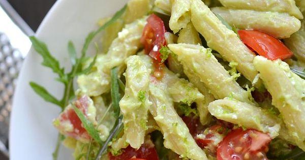 Avocado Pasta | Easy Cookbook Recipes