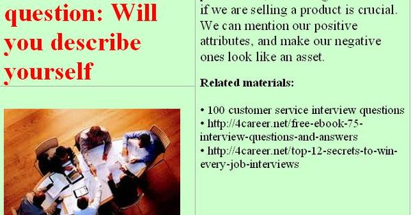 Related Materials 100 Customer Service Interview