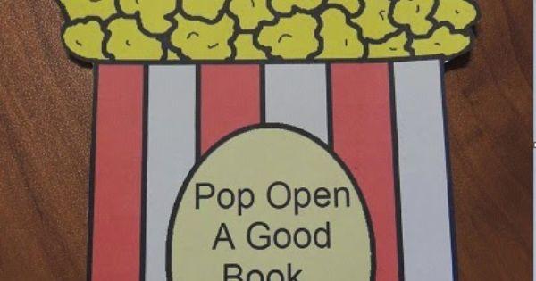 Pop Open A Good Book...The Bible- Popcorn Cutout Craft or ...