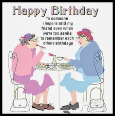 Image Result For Funny Birthday Cartoon For Older Sister