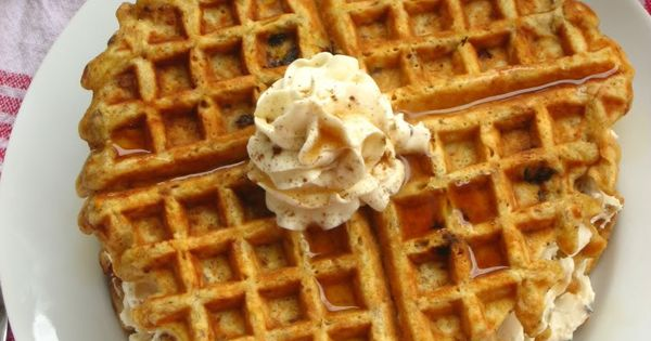 Carrot Cake Waffles - Willow Bird Baking Willow Bird Baking