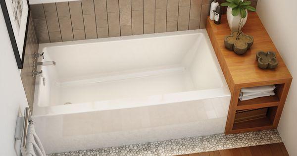 "MAAX Professional - Rubix 6030/6032 Alcove bathtub 60""x30 ..."