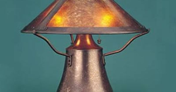 675 Made In Usa Mica Lamp Company 004 01 3 Light Smith Mushroom Table Lamp Dark Copper Lamp Mushroom Lamp Table Lamp