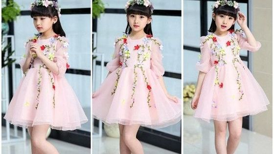 فساتين سواريه للأطفال بأشكال مميزة ومختلفة لعام 2019 Soiree Dress Evening Dresses Kids Dresses