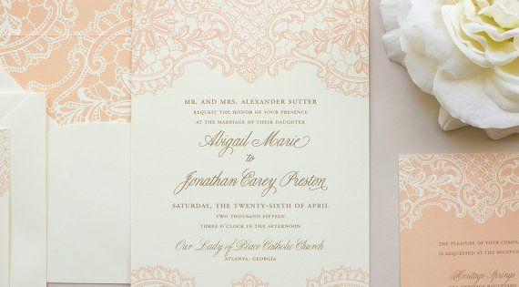 Elegant invite.