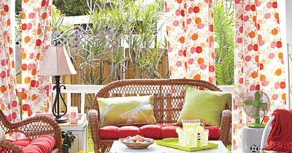 Porch Decorating Ideas For Summer | ... porch – summer porch and
