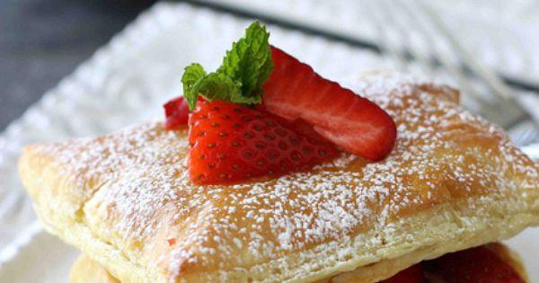 Strawberry & Chocolate Cream Cheese Napoleon Recipe ...
