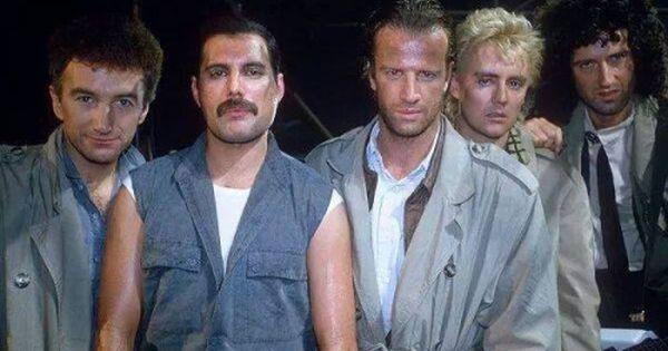 Jara80 Queen And Christopher Lambert Filming Freddie Mercury Queen Princes Of The Universe Freddie Mercury Highlander Movie