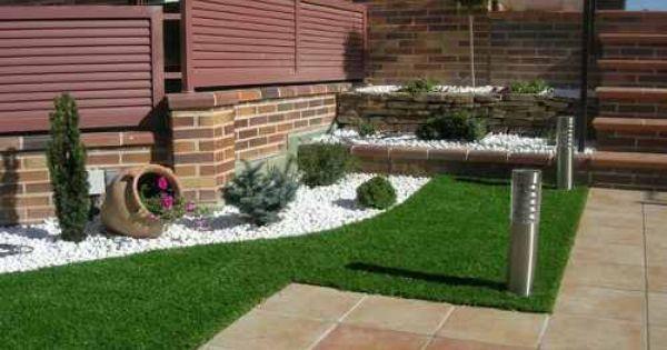 Decorar jardines con ladrillos buscar con google for Jardines pequenos con ladrillos