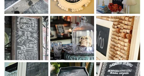 55 rockin' chalkboard projects.