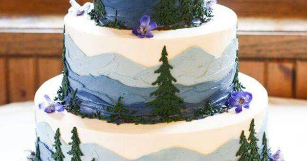 National Park Cake Awesome Cakes Pinterest Cake