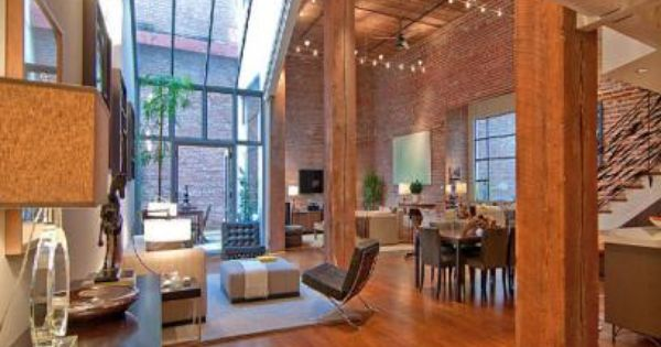My Dream House!! high ceilings, lots of lighting, open space