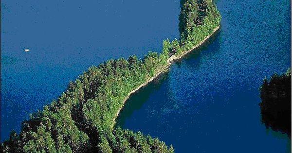Lake view, Finland.