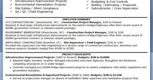 construction manager resume pdf creative resume design