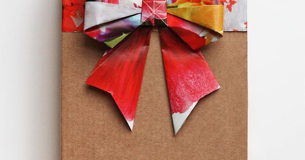 How About Orange: Origami Bow