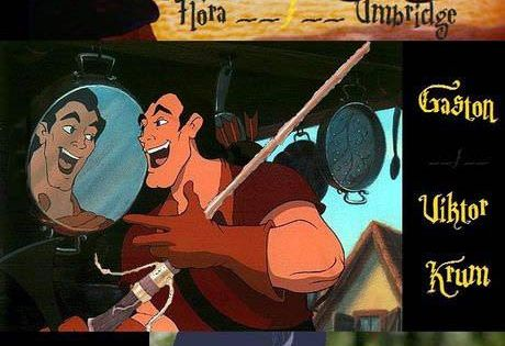 Harry Potter Disney characters. This just got better and better..!!!!!