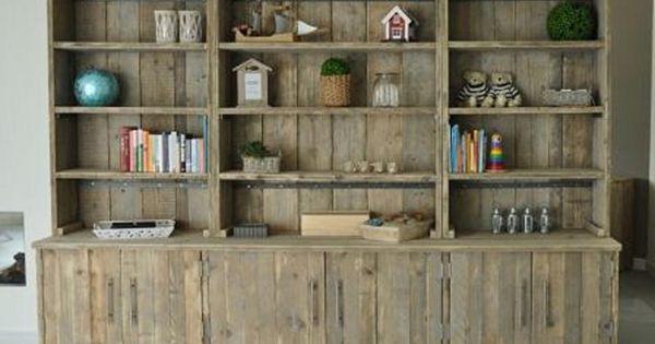 ... van steigerhout  JORG`S Houten Meubelen - wood  Pinterest