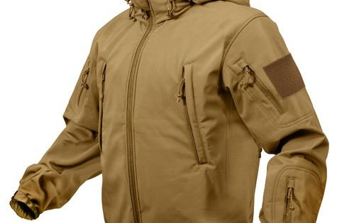 Rothco Special Ops Tactical Soft Shell Jacket 9867 Coyote Brown Size SM