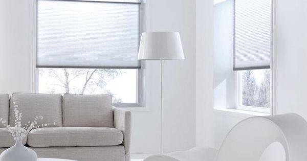 Gordijnen plisse raamdecoratie pinterest raamdecoratie gordijnen en interieur - Gordijnen interieur decoratie ...