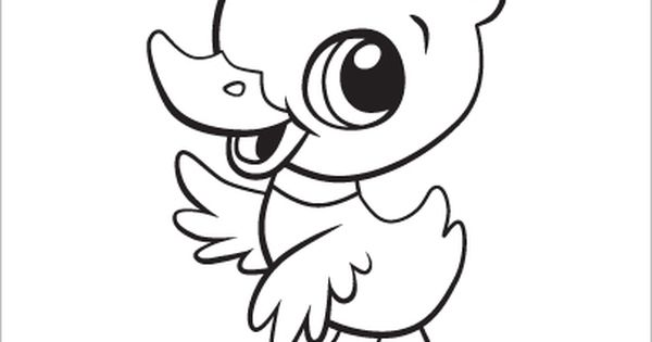 Learning Friends Duck Baby Animal Coloring Printable From LeapFrog The Learning Friends Prepare